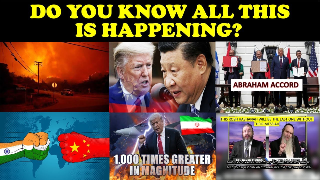 DID YOU KNOW ALL THIS IS HAPPENING?
