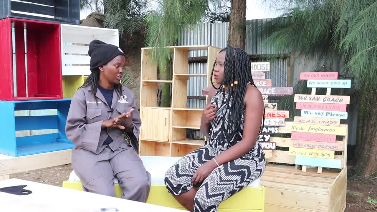 MEET THIS SELF TAUGHT FEMALE CARPENTER BREAKING THE BARRIERS #AfricaBusiness