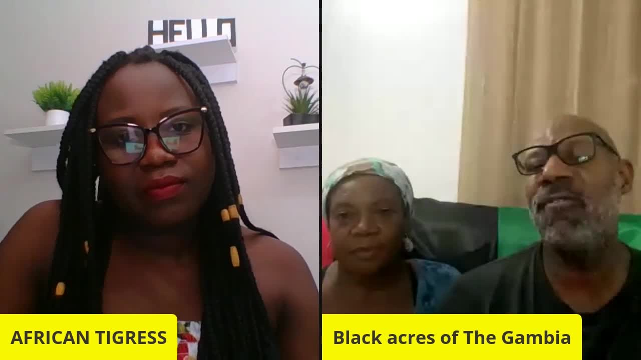 WE ESCAPED PRISON (AMERICA) TO BUILD BLACK ACRES OF THE GAMBIA--Part 1