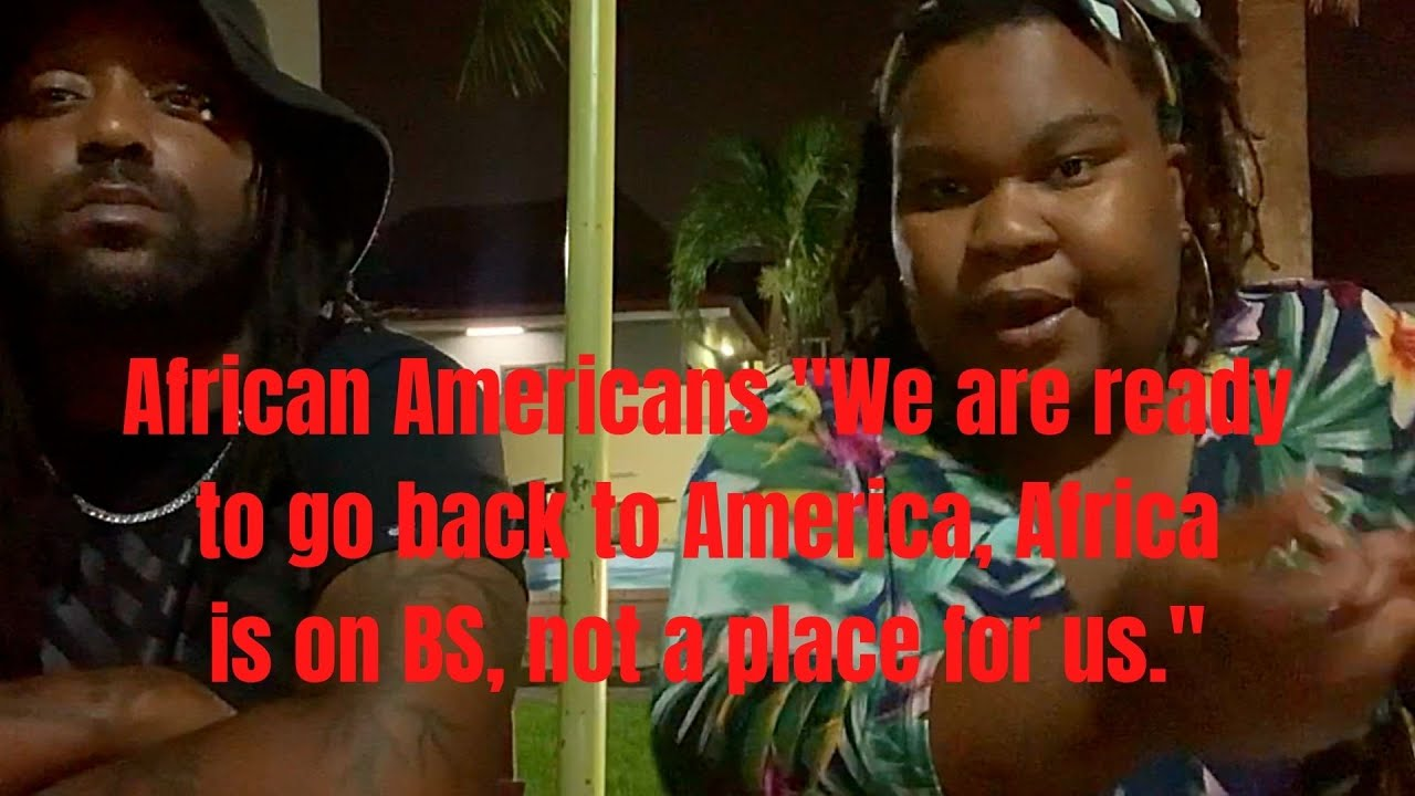 African Americans tell their truth about Ghana, Africa.  Travelers be aware?