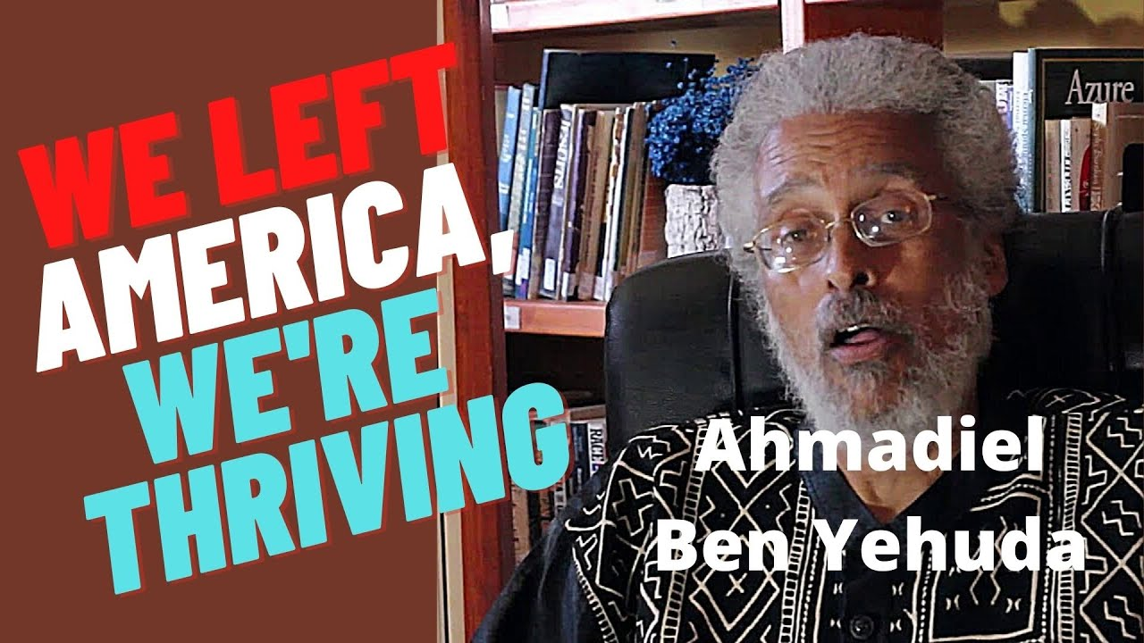 Sar Yehuda left America for Dimona Israel a community of 2,000 African American's.
