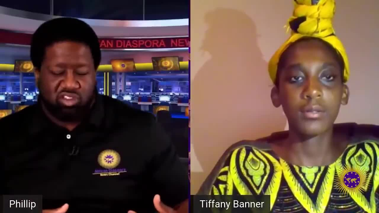 Tiffany Banner On Leaving America For Tanzania & America Being Built To Break Black Americans