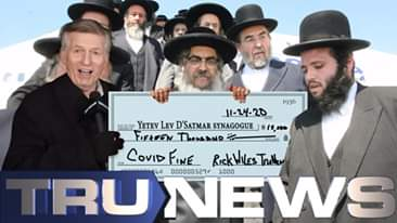 TruNews Pays Brooklyn Synagogue $15,000 COVID Fine -Today on TruNews we annou...