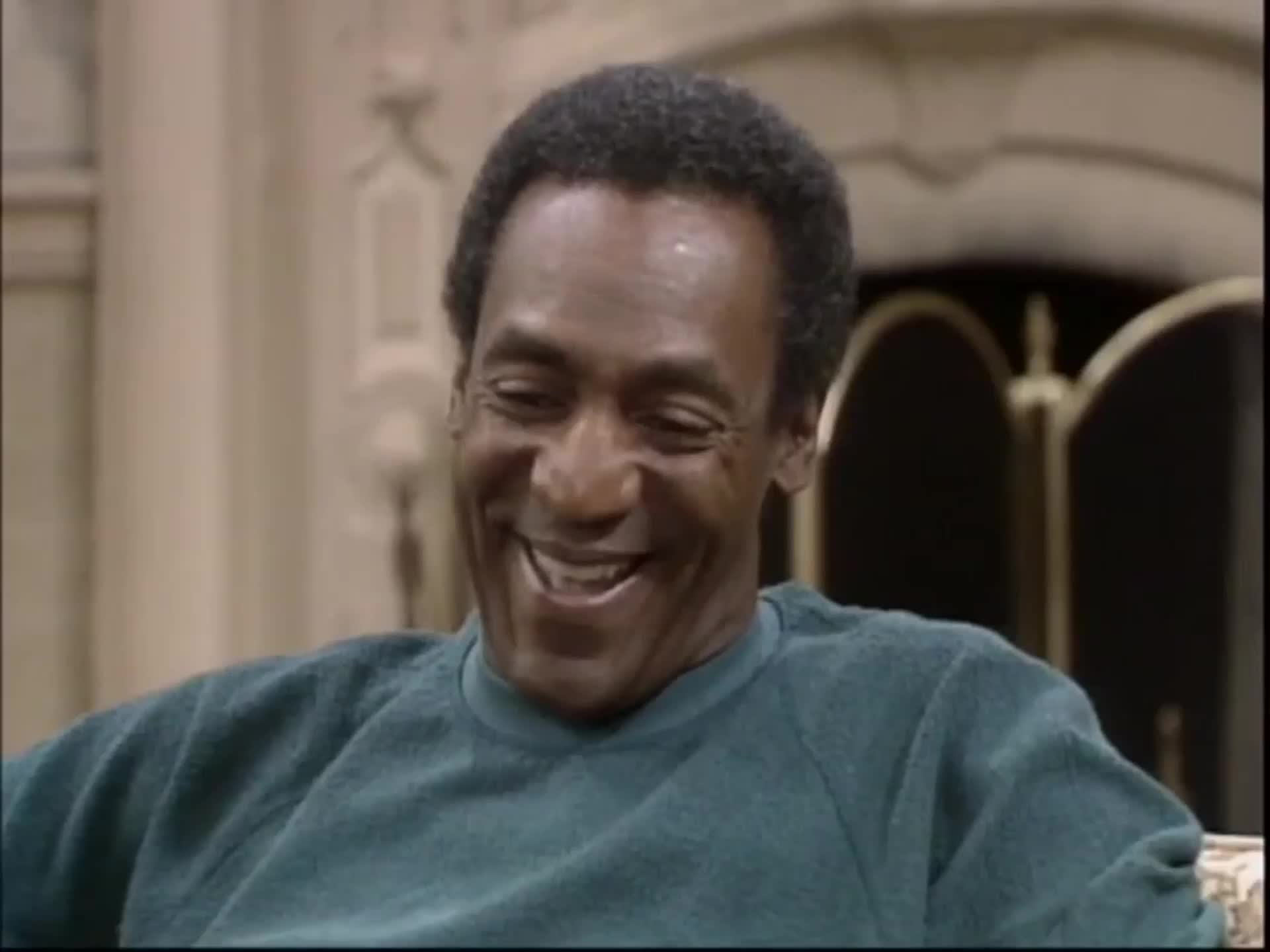 The Cosby Show - Season 1 Episode  05 Cliff (Bill Cosby) blows his top when s...