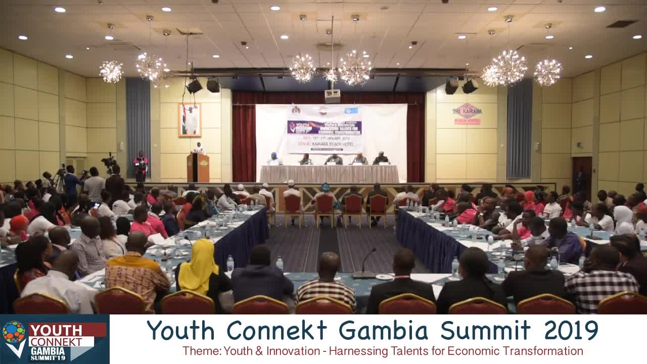 Youth connect Gambia 2019 - Lala Touray