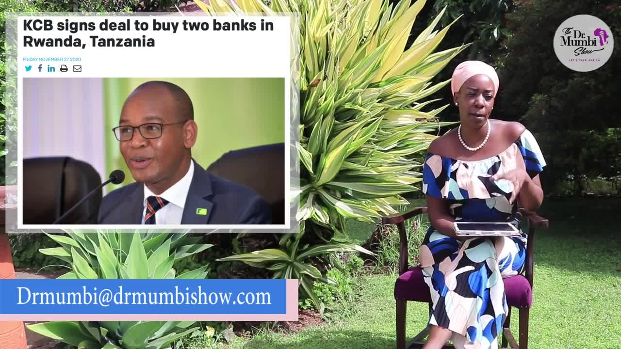 WOW AMAZING! Kenyan Bank TO BUY BANKS IN Rwanda, Tanzania from LONDON Investment Firm.
