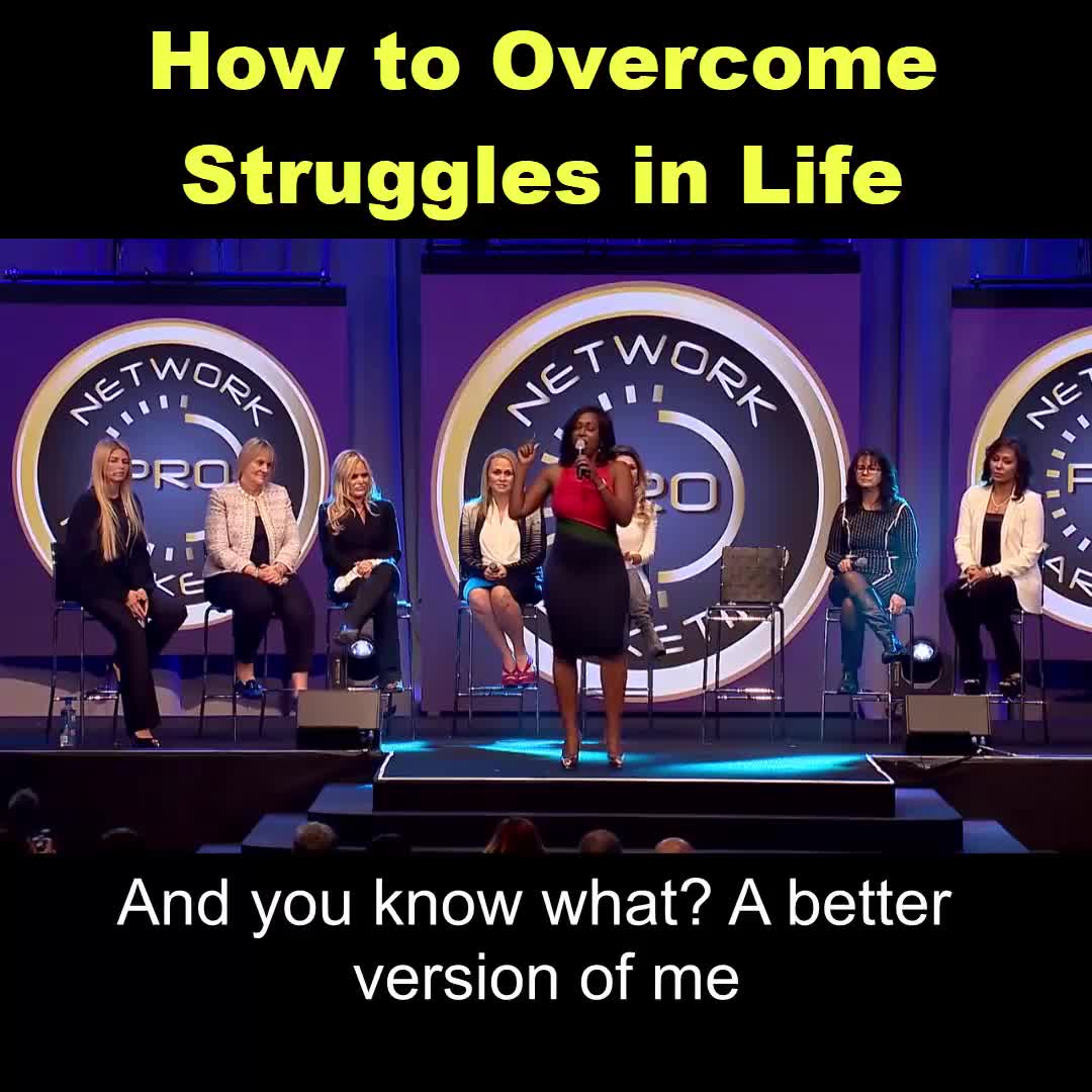 How you handle struggles in life can either make you or break you... Don't le...