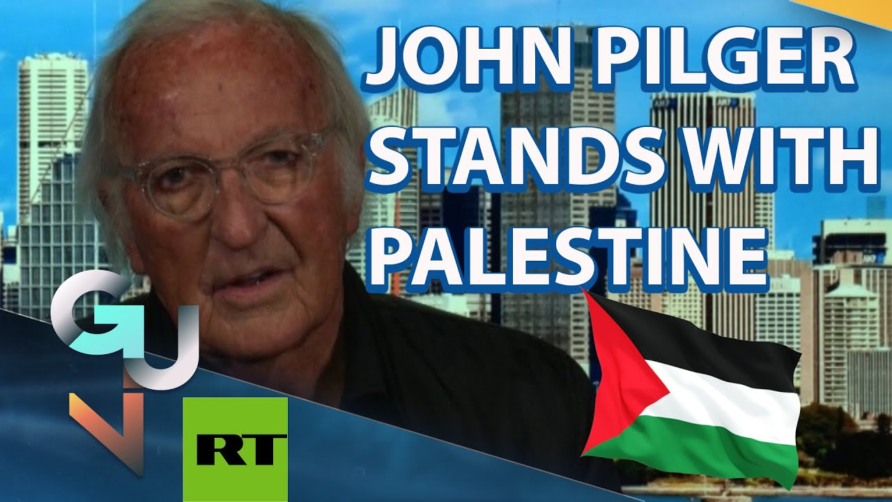 John Pilger Interview: Israel is a LYING MACHINE, Palestine Has The Right to Resist!