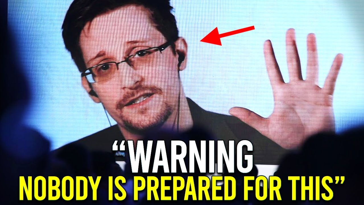 It's Getting REALLY Serious, Worse Than I Thought | Edward Snowden