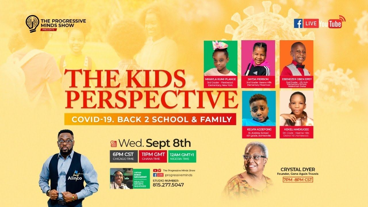 THE KIDS PERSPECTIVES - COVID-19. FAMILY. BACK2SCHOOL
